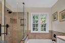 Look at this custom tile work - 4705 LEEHIGH CT, FAIRFAX