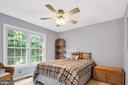 Each room also has a ceiling fan - 4705 LEEHIGH CT, FAIRFAX