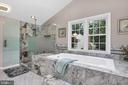 And this amazing bathroom remodel - 4705 LEEHIGH CT, FAIRFAX