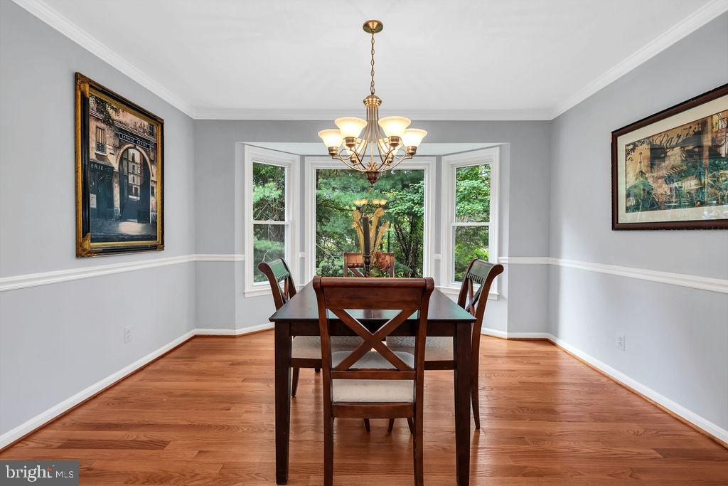 Entertain your guests in this formal dining area - 4705 LEEHIGH CT, FAIRFAX