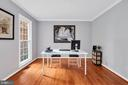Newly refinished hdwd flooring carries throughout - 4705 LEEHIGH CT, FAIRFAX