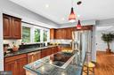 From the island bar and cooktop - 4705 LEEHIGH CT, FAIRFAX