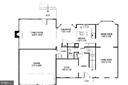 Main level floor plan - 4705 LEEHIGH CT, FAIRFAX