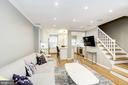Open Concept Living Room - 3552 S STAFFORD ST, ARLINGTON