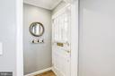 Foyer with Coat Closet - 3552 S STAFFORD ST, ARLINGTON