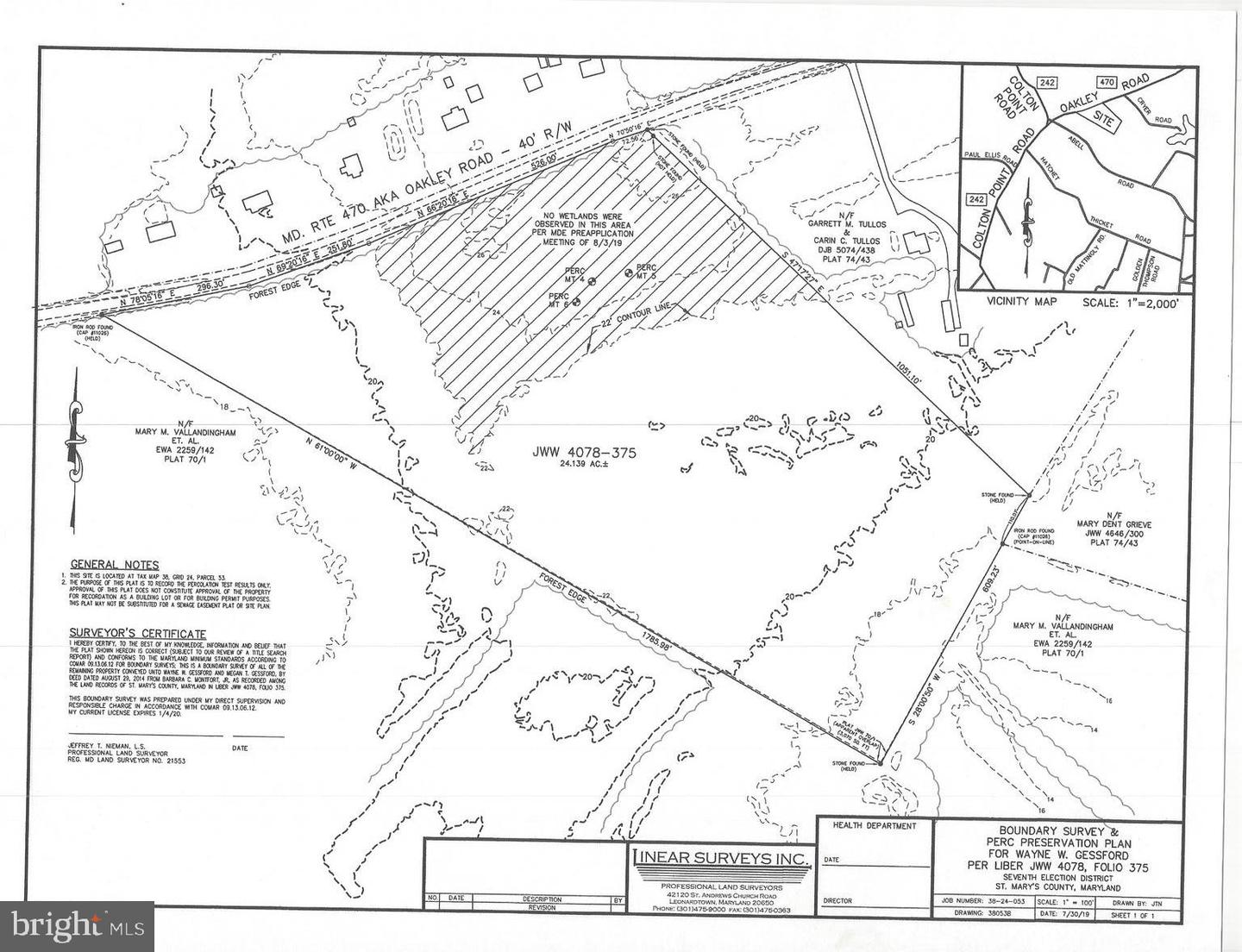Land for Sale at Avenue, Maryland 20609 United States