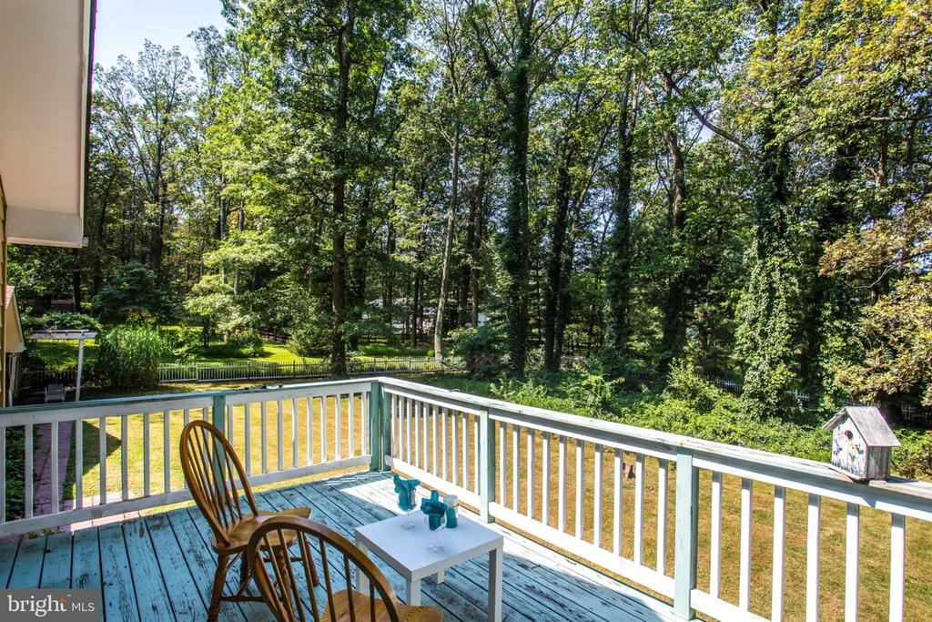Deck off of master bedroom - 4198 WINDY HILL DR, MONROVIA
