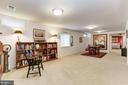 Rec Room that could be converted to 5th bedroom - 42924 SPYDER PL, CHANTILLY