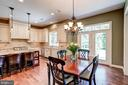 Eat In table space - 3001 WEBER PL, OAKTON