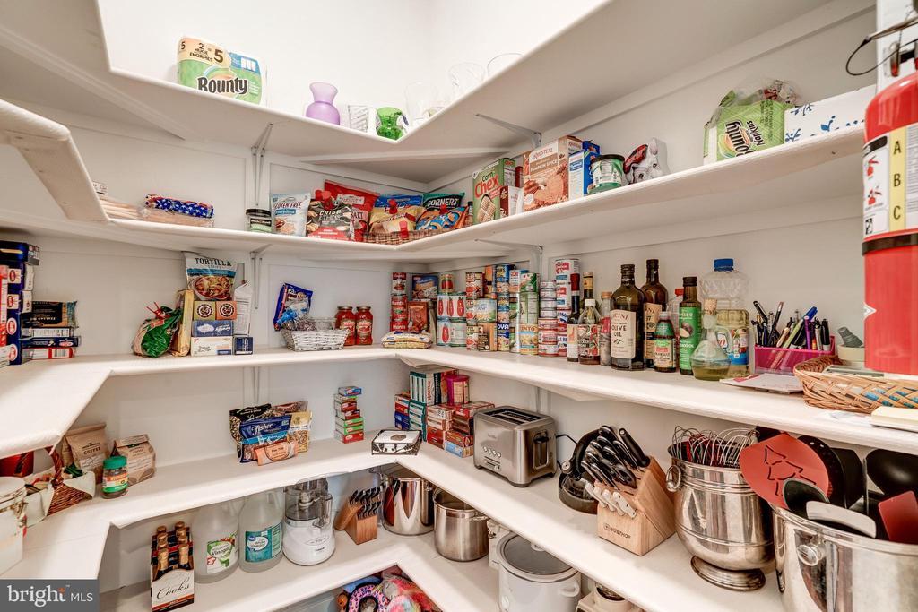 Large pantry - 3001 WEBER PL, OAKTON