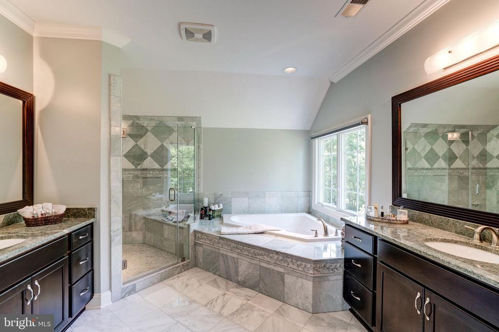 Lux Bath w/ jetted tub, body sprays & rain shower - 3001 WEBER PL, OAKTON