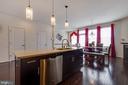 Gleaming hard wood floors. - 24684 CAPECASTLE TER, ALDIE