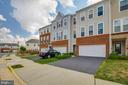 View of street. - 24684 CAPECASTLE TER, ALDIE