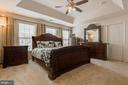 Master bedroom. - 24684 CAPECASTLE TER, ALDIE
