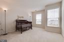Bedroom one. - 24684 CAPECASTLE TER, ALDIE