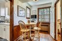 Cozy breakfast nook - 4040 19TH ST NE, WASHINGTON