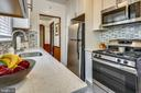 Renovated kitchen with SS appliances - 4040 19TH ST NE, WASHINGTON