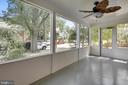 Entertain outdoors on the screened in porch - 4040 19TH ST NE, WASHINGTON
