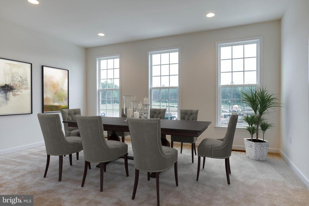 Dining Model Home - 105 MATTOCK WAY, STAFFORD