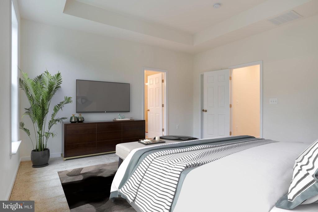 Master Bedroom Model Home - 105 MATTOCK WAY, STAFFORD