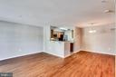 Living Room & Dining Area Combo - 3822 DEVIL TREE CT #14-B, HYATTSVILLE