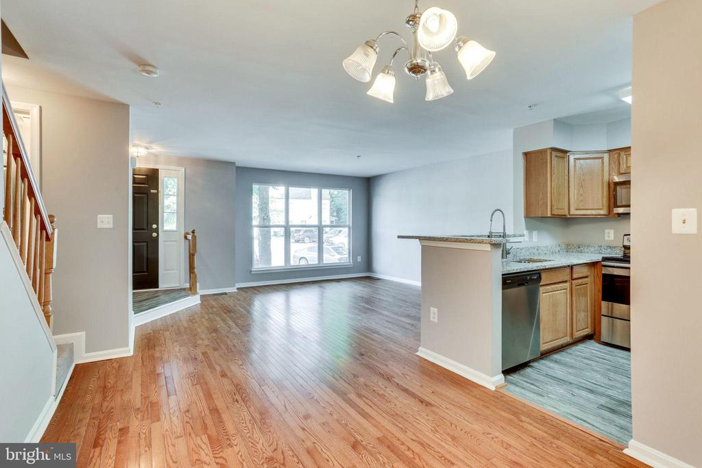 Dining Area & Living Room Combo - 3822 DEVIL TREE CT #14-B, HYATTSVILLE