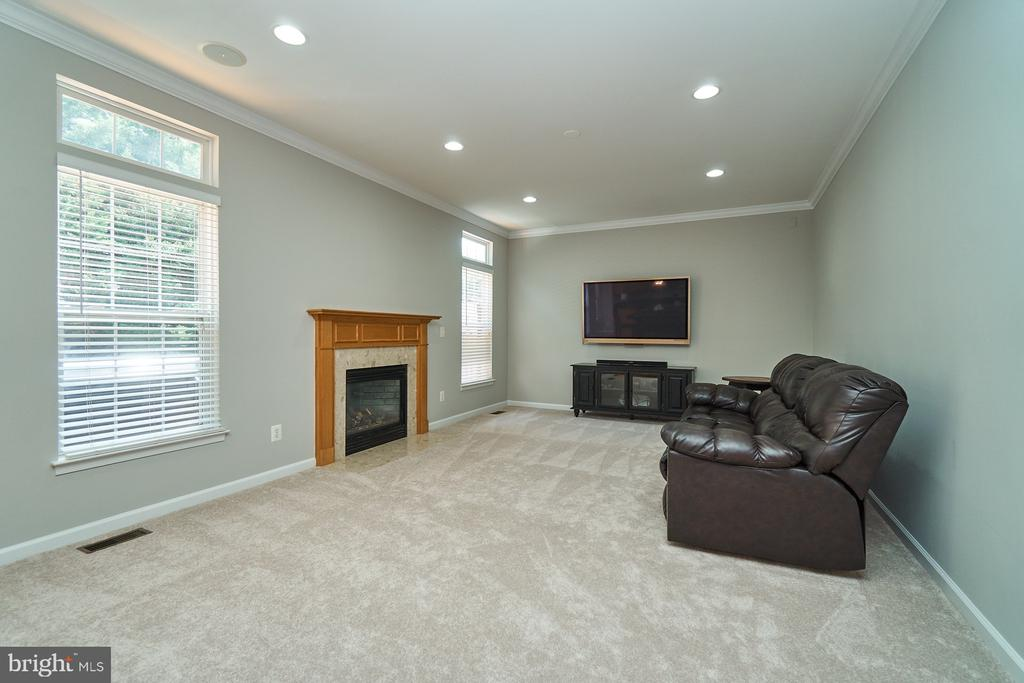 Main level family with new carpet and paint, - 21284 HIDDEN POND PL, BROADLANDS