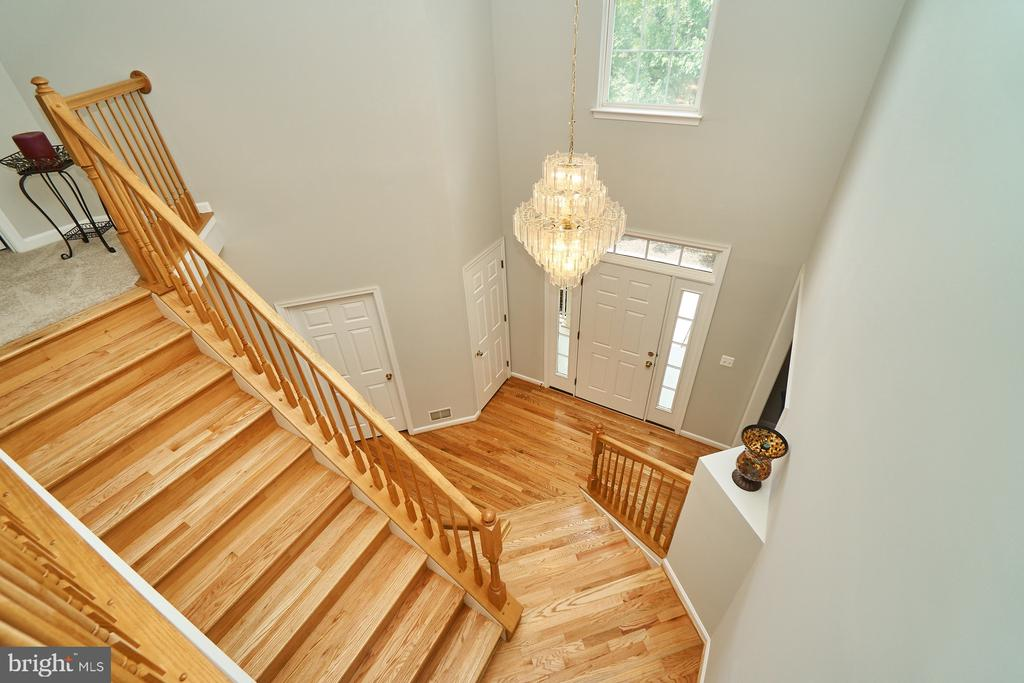Better view of staircase and 2 story foyer - 21284 HIDDEN POND PL, BROADLANDS