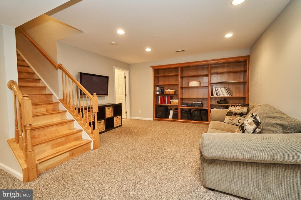 Recreation/Game Rm with built-in cabinets - 21284 HIDDEN POND PL, BROADLANDS