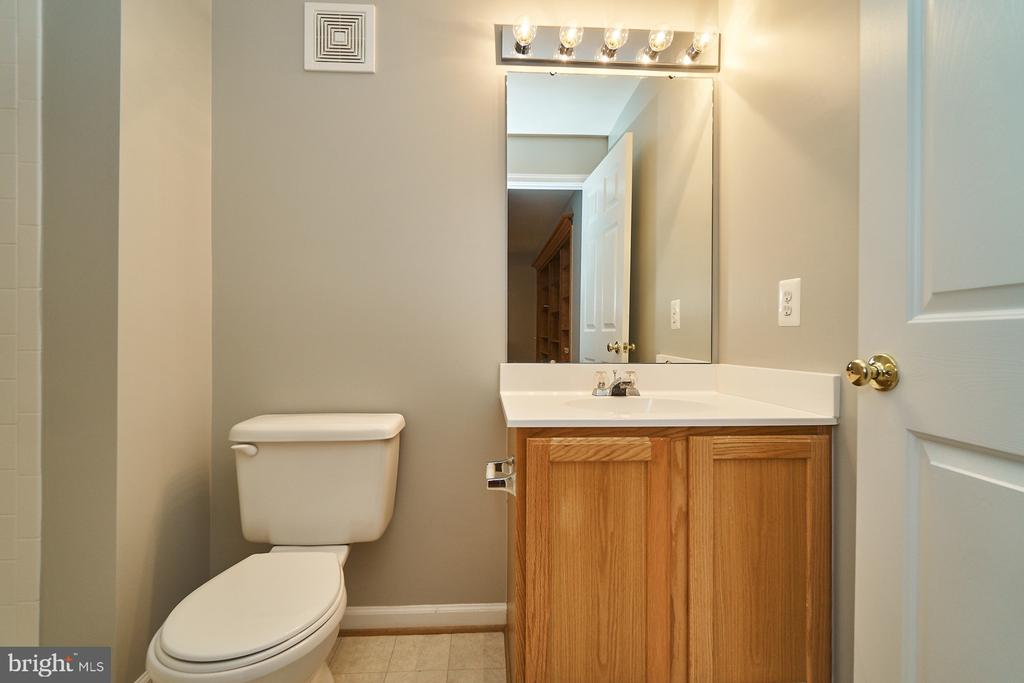 Lower level full bathroom - 21284 HIDDEN POND PL, BROADLANDS