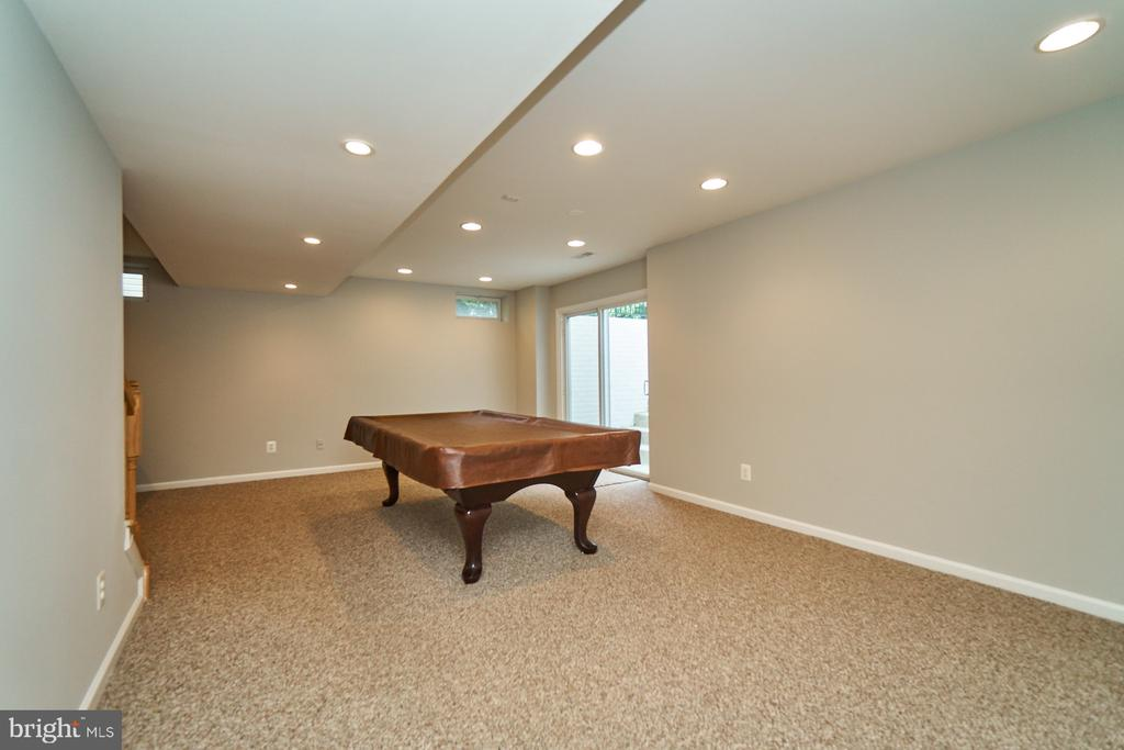 Plenty of recessed lighting in the lower level - 21284 HIDDEN POND PL, BROADLANDS