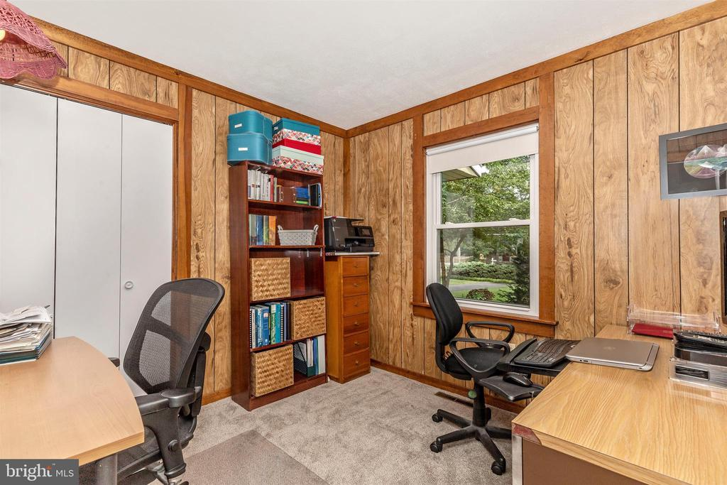 Bedroom #3 (currently used as an office) - 5400 RIDGE RD, MOUNT AIRY