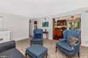 Living Room - 5400 RIDGE RD, MOUNT AIRY