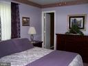 Master bedroom on main level - 195 BEREA CHURCH RD, FREDERICKSBURG