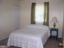 Number 3 Bedroom on main level - 195 BEREA CHURCH RD, FREDERICKSBURG