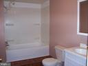 Lower level bathroom - 195 BEREA CHURCH RD, FREDERICKSBURG