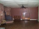 Family Room on lower level - 195 BEREA CHURCH RD, FREDERICKSBURG