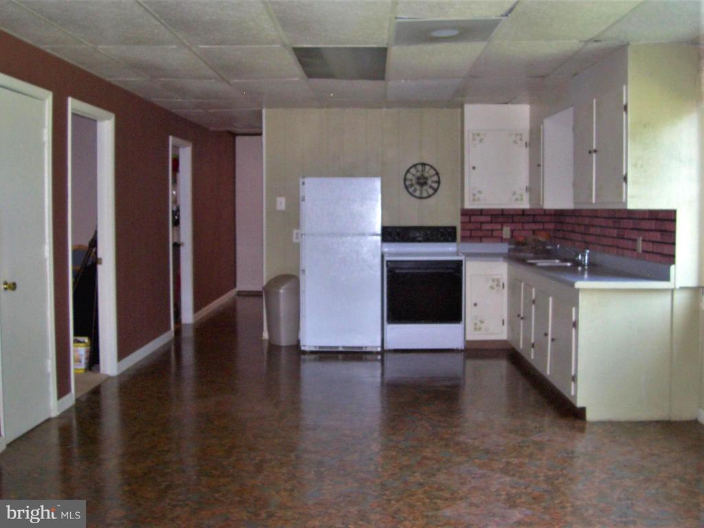 Lower level kitchen combo to family room - 195 BEREA CHURCH RD, FREDERICKSBURG