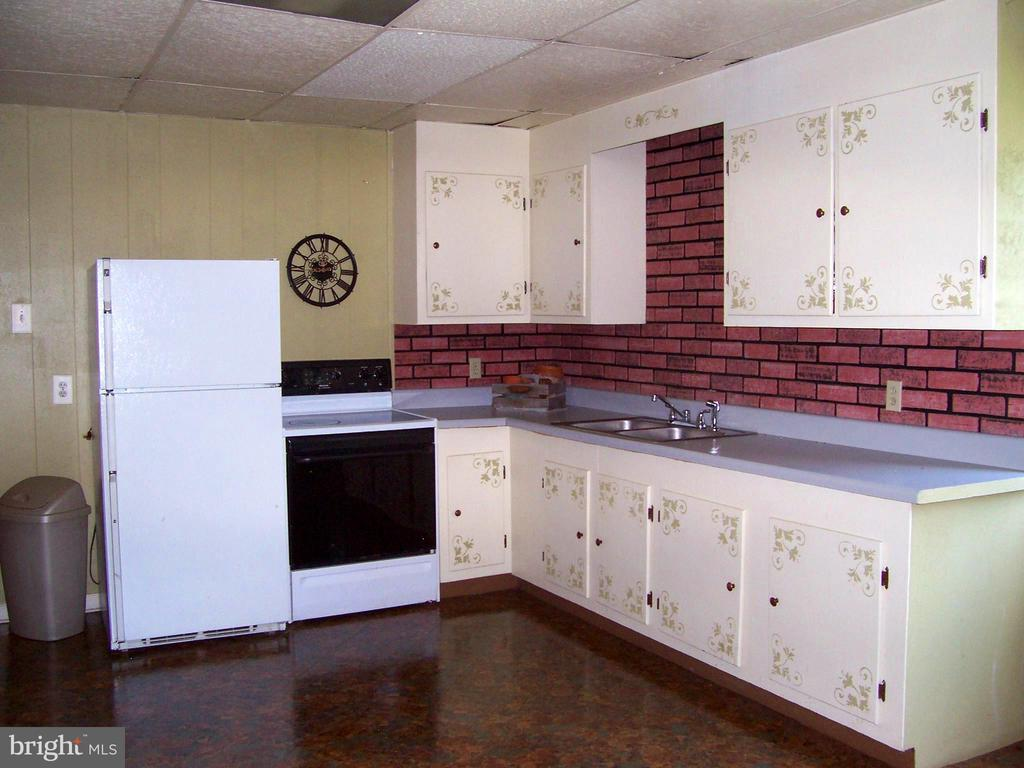 Lower level kitchen - 195 BEREA CHURCH RD, FREDERICKSBURG