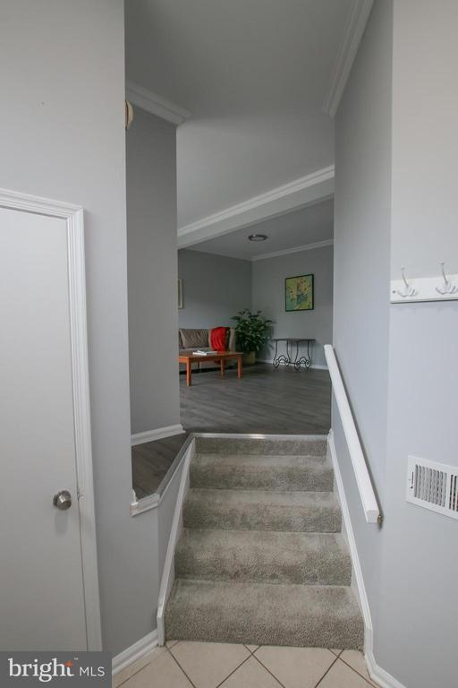 Welcoming Foyer Complete with Coat Closet - 21872 MAYWOOD TER, STERLING