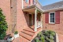 Inviting front entry - 1739 N WAKEFIELD ST, ARLINGTON