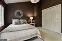 Spacious second bedroom with vaulted ceilings - 1739 N WAKEFIELD ST, ARLINGTON