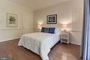Expansive 3rd bedroom on LL with walk-in closet - 1739 N WAKEFIELD ST, ARLINGTON