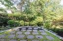 Lush landscaping adds privacy - 1739 N WAKEFIELD ST, ARLINGTON