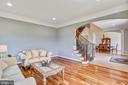 Formal Living Room - 16875 DETERMINE CT, LEESBURG