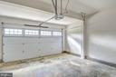 garages are always finished off as a standard - 6324 JOSLYN PL, CHEVERLY
