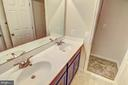 hall bath with standard double bowl - 6324 JOSLYN PL, CHEVERLY