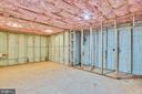 Lower Level Framed out Media Room/Soundproof Room - 16875 DETERMINE CT, LEESBURG