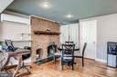 Dining area with fireplace! - 301 E MARSHALL ST, MIDDLEBURG