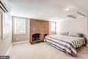 Master Bedroom upstairs! - 301 E MARSHALL ST, MIDDLEBURG